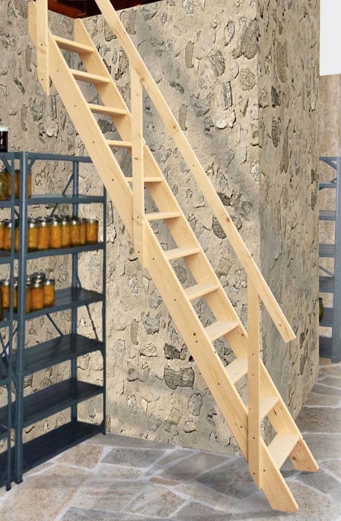Лестница в погреб своими руками: требования, пошаговая инструкция по установке