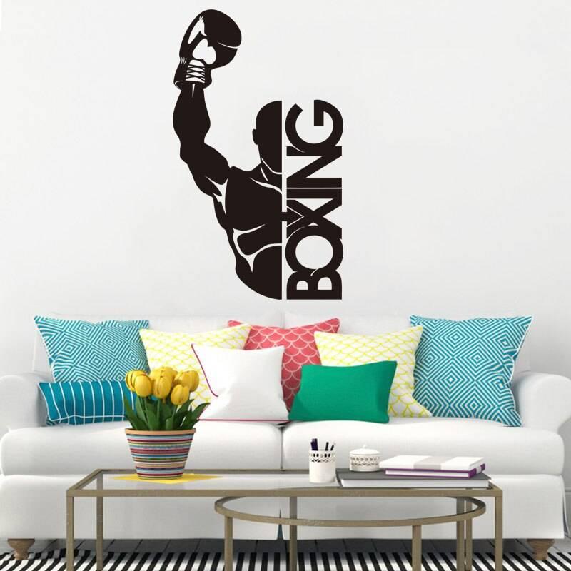 70+ декоративных наклеек для интерьера на стены (фото, видео)