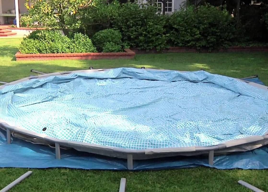 Самостоятельное изготовление каркасного бассейна