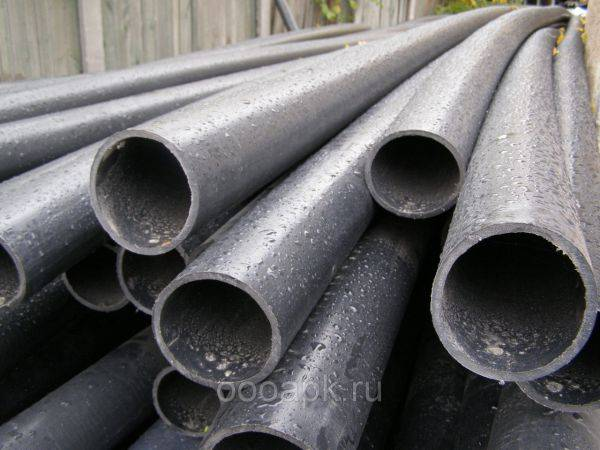 Размеры труб для водопровода - как правильно рассчитать и подобрать