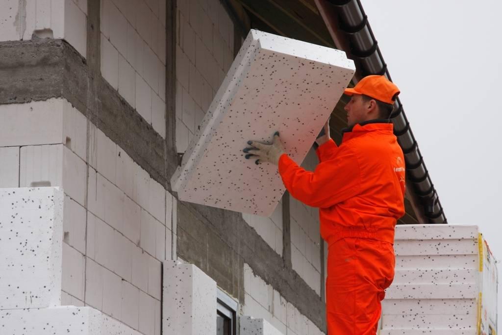 Утепление дома из газобетона снаружи и изнутри. как правильно утеплить газобетон