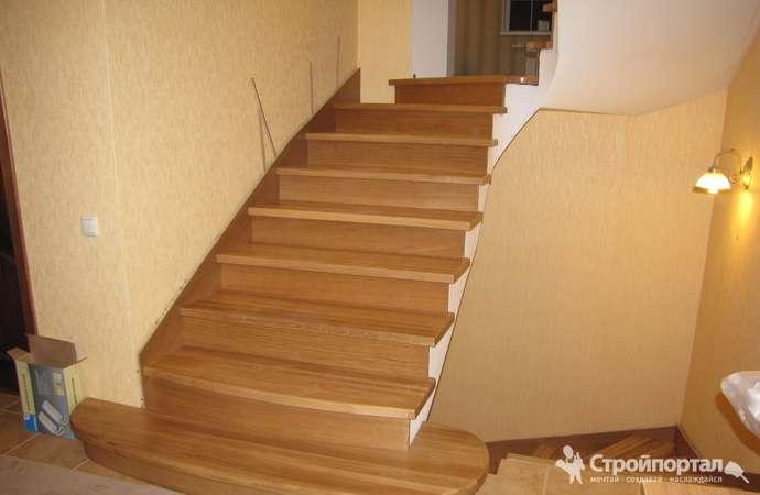 Отделка бетонной лестницы в частном доме 7 вариантов