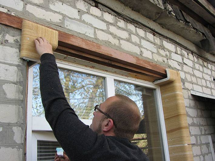 Утепление откосов пластиковых окон своими руками: снаружи, внутри