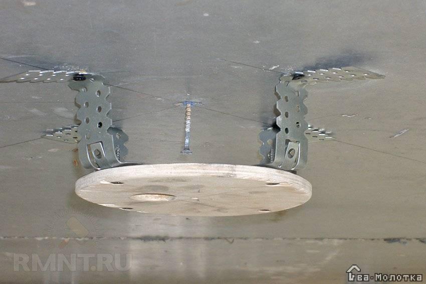 Люстры для натяжного потолка - фото примеров