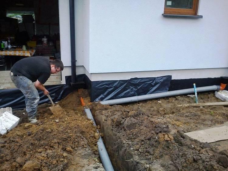 Ливневка в частном доме - ливневая канализация своими руками