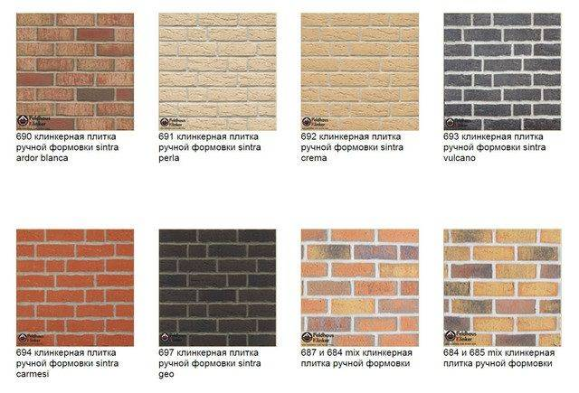 Клинкерная плитка для фасадов: виды, свойства и технология укладки материала