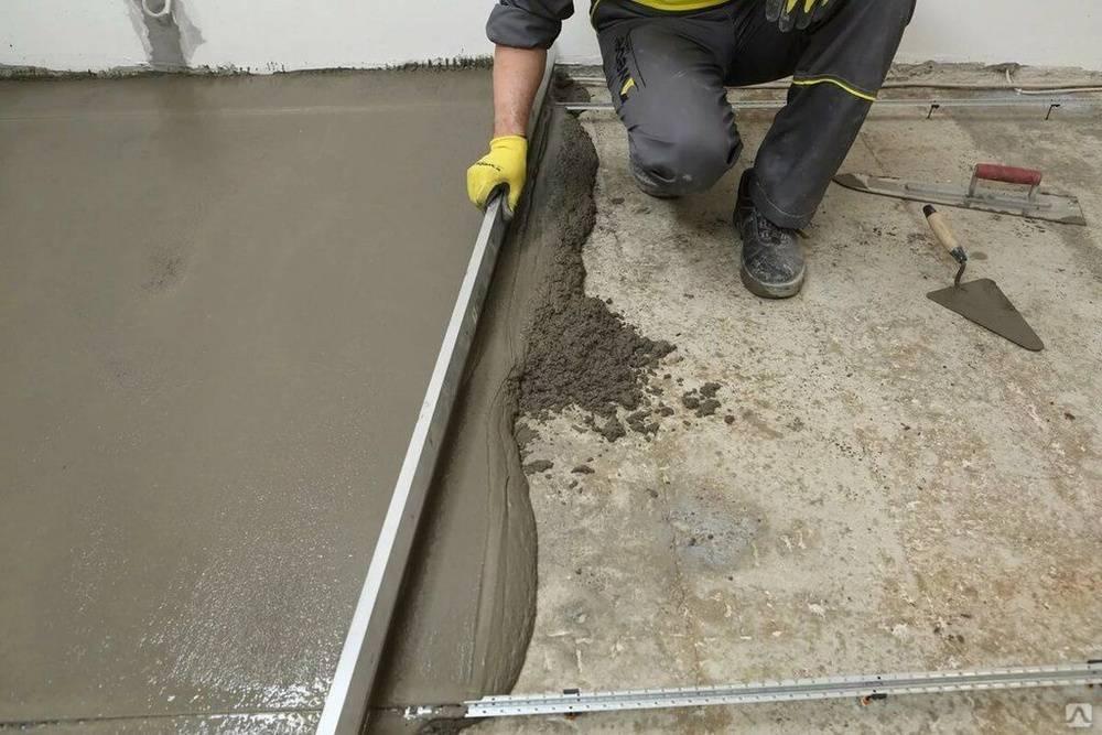Заливка пола в гараже: гидроизоляция, бетонирование и шлифовка