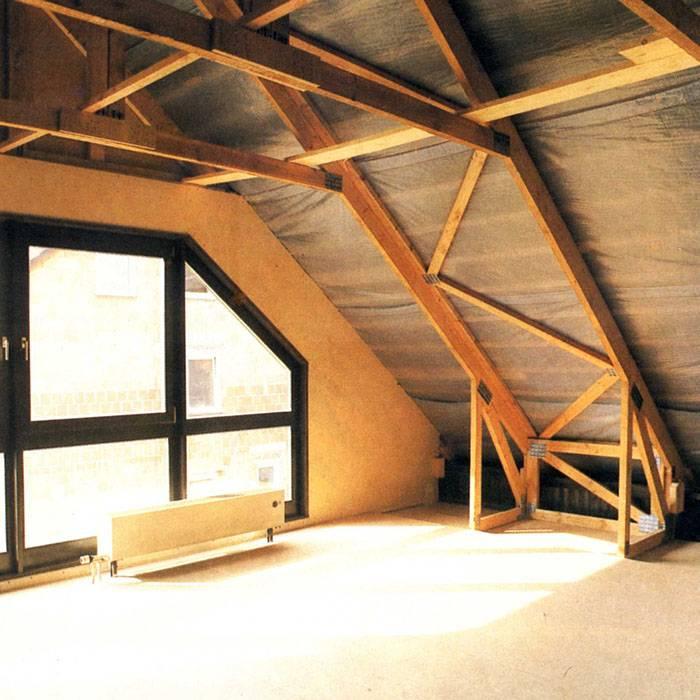 Как сделать мансардную крышу: все этапы от планирования до утепления