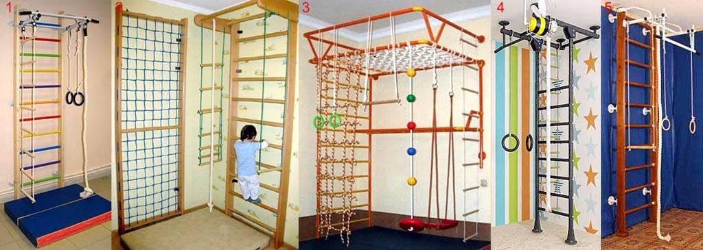 Делаем детский спортивный уголок для квартиры своими руками - варианты
