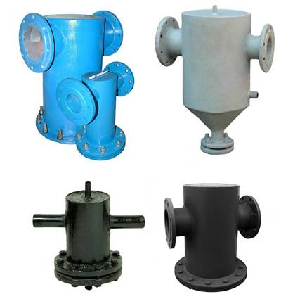 Грязевики для систем водоснабжения. области применения грязевиков