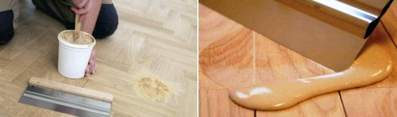 Шпаклевка для деревянного пола: выбор и применение