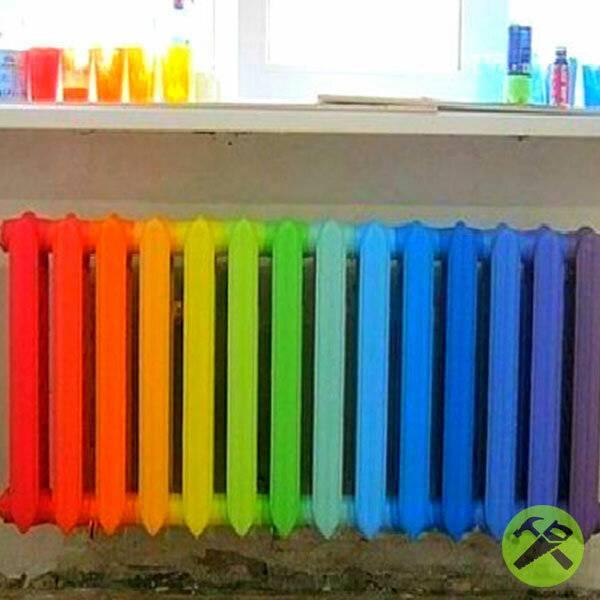 Как красить батареи отопления своими руками – выбор краски, способы покраски