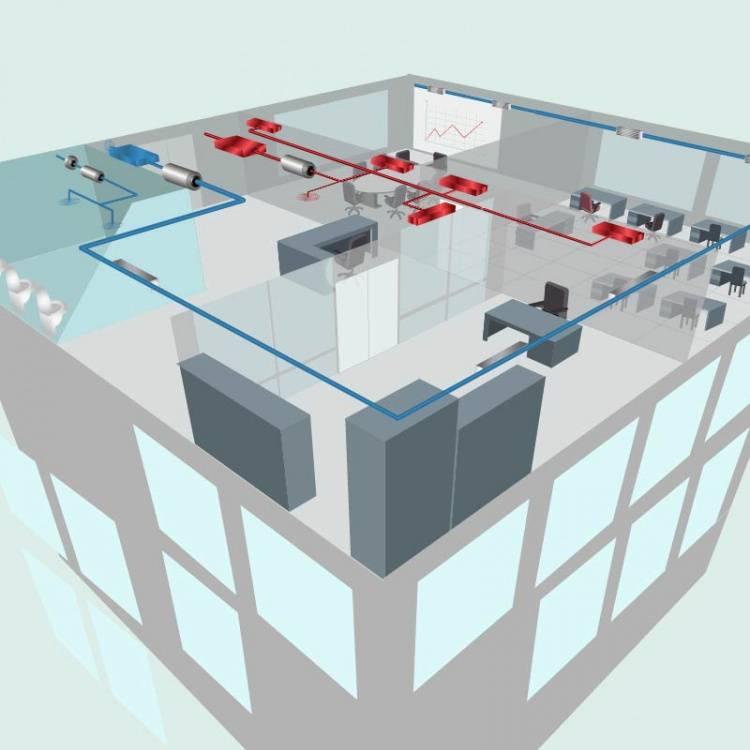 Особенности вентиляционной системы для торговых центров