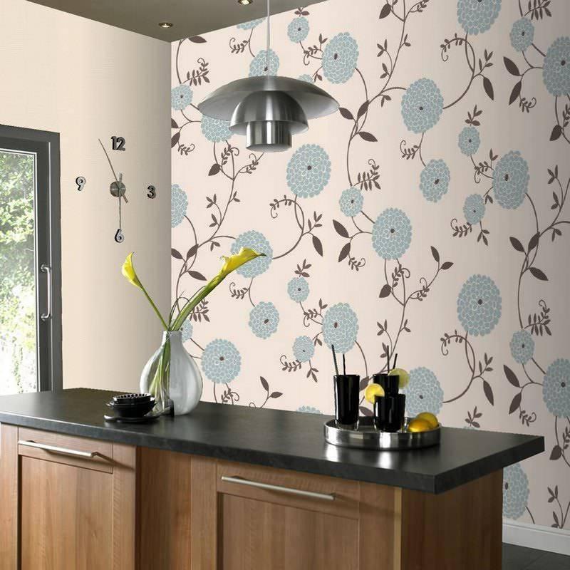 Полезные советы о том, какие обои выбрать для кухни: дизайн и отделка помещения