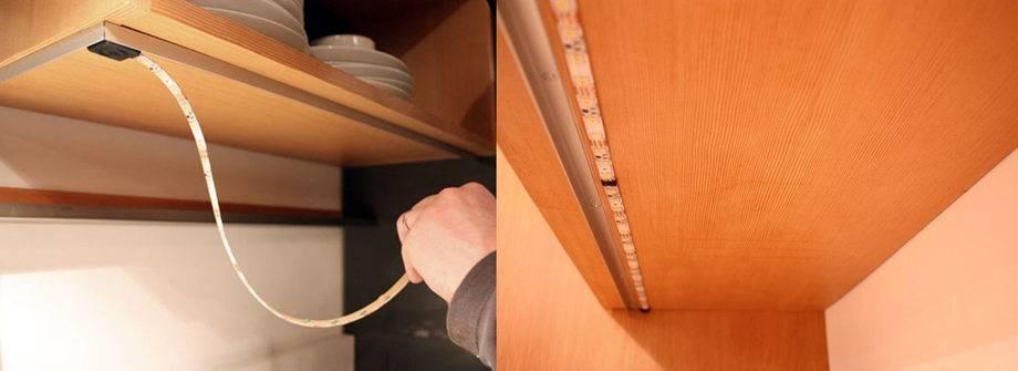 Профиль для светодиодной ленты - 3 вида, выбор, монтаж, применение
