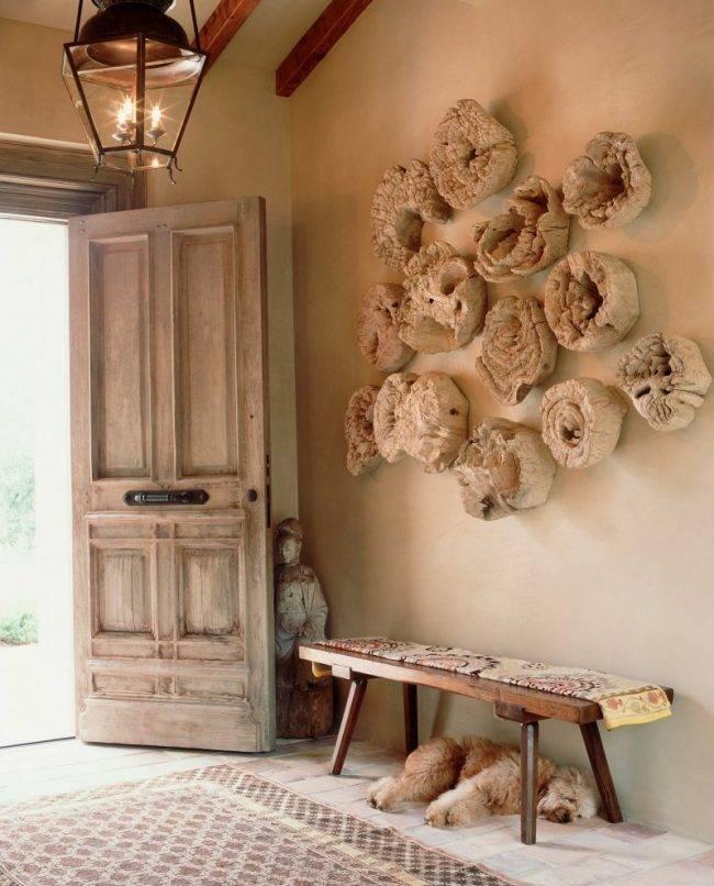 Декор из подручных материалов для дома своими руками: идеи оформления стен, особенности их реализации и фото