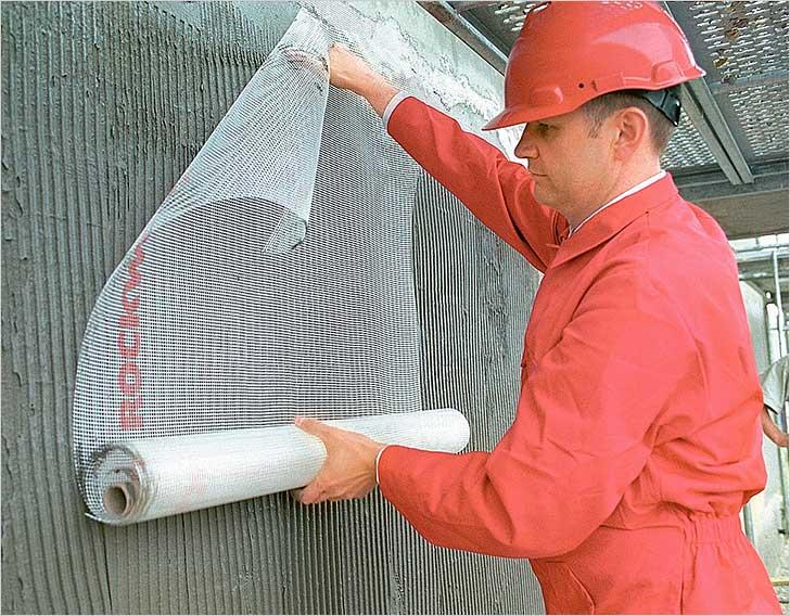 Виды армирующих сеток для штукатурки внутренних и наружных стен