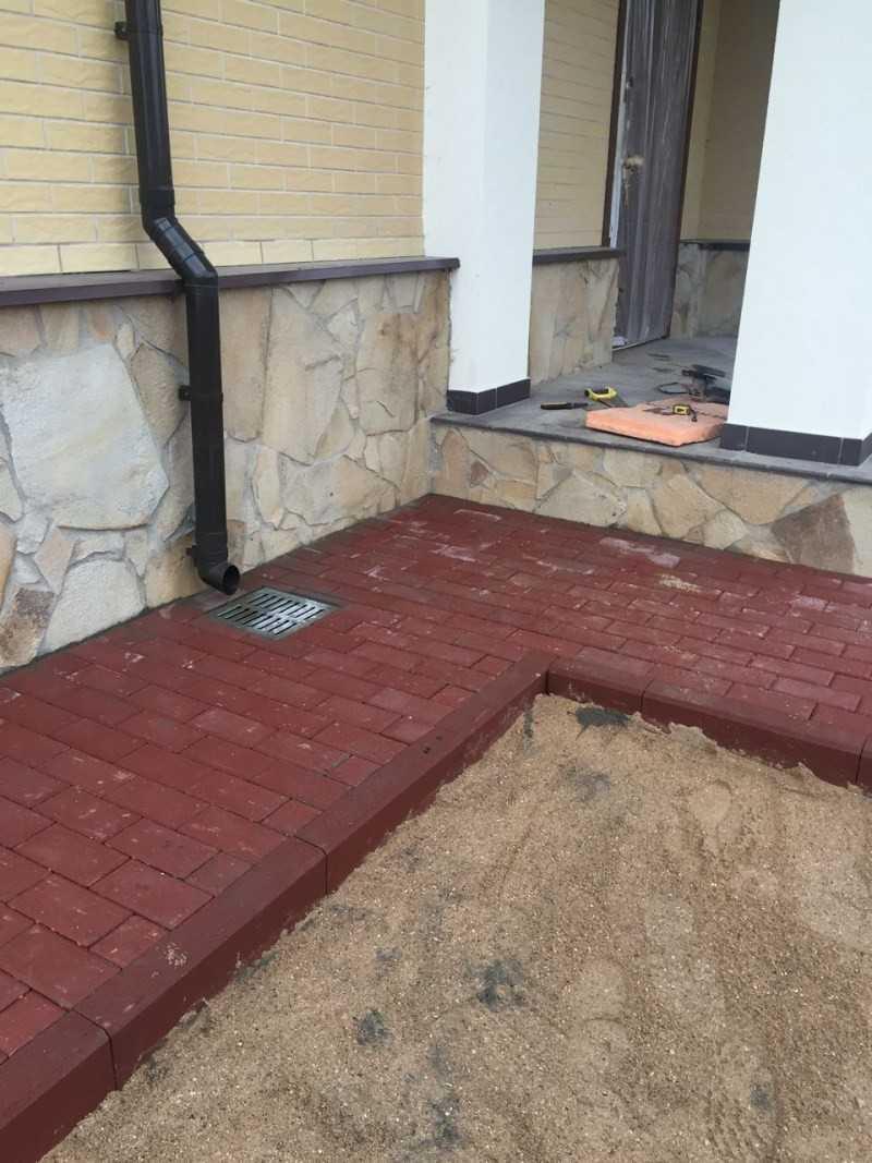 Отделка цоколя частного дома своими руками - строительство и ремонт