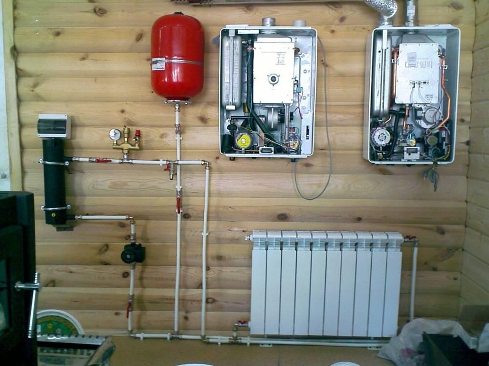 Как сделать отопление на даче своими руками, схема монтажа