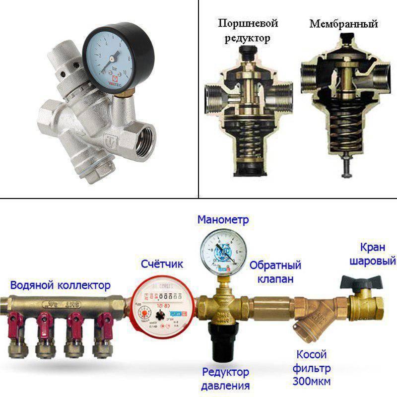 Для чего и как правильно производится регулировка давления воды в насосной станции?