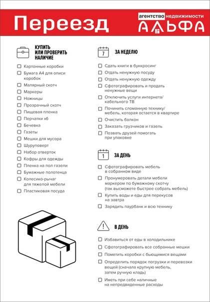 33 совета, которые упростят ваш переезд (из одного дома в другой)