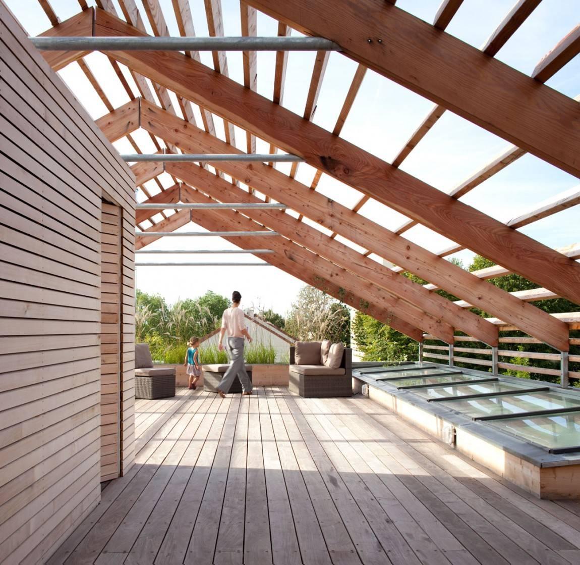 Как пристроить террасу к дому — просто и быстро строим простейшую террасу из разных материалов (90 фото)