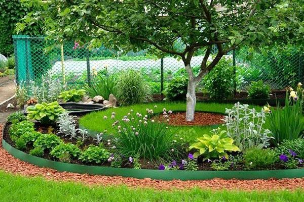 Бордюрная садовая лента для клумб и грядок