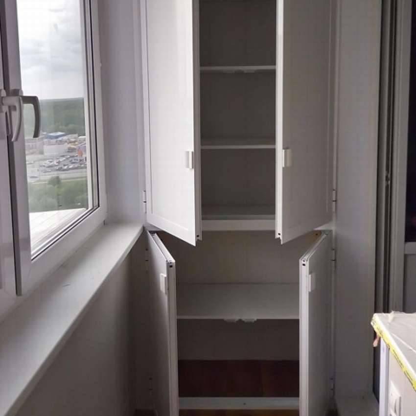 Пошаговая инструкция, как изготовить простой шкаф на балкон (12 фото)