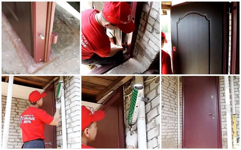 Как сделать двери самому, какой металл и инструменты использовать, особенности монтажа