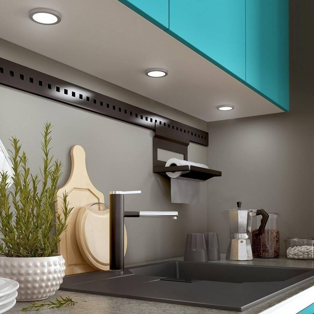 Варианты подсветки рабочей зоны на кухне