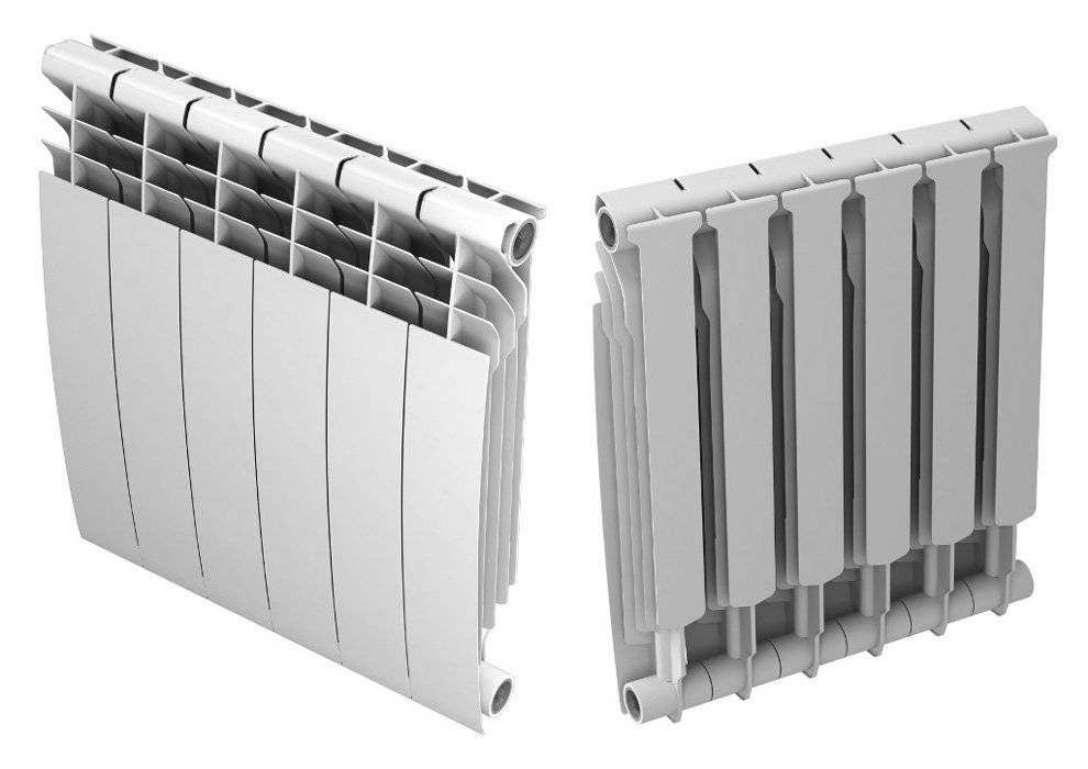 Чем отличается биметаллический радиатор от алюминиевого – различия, преимущества и недостатки