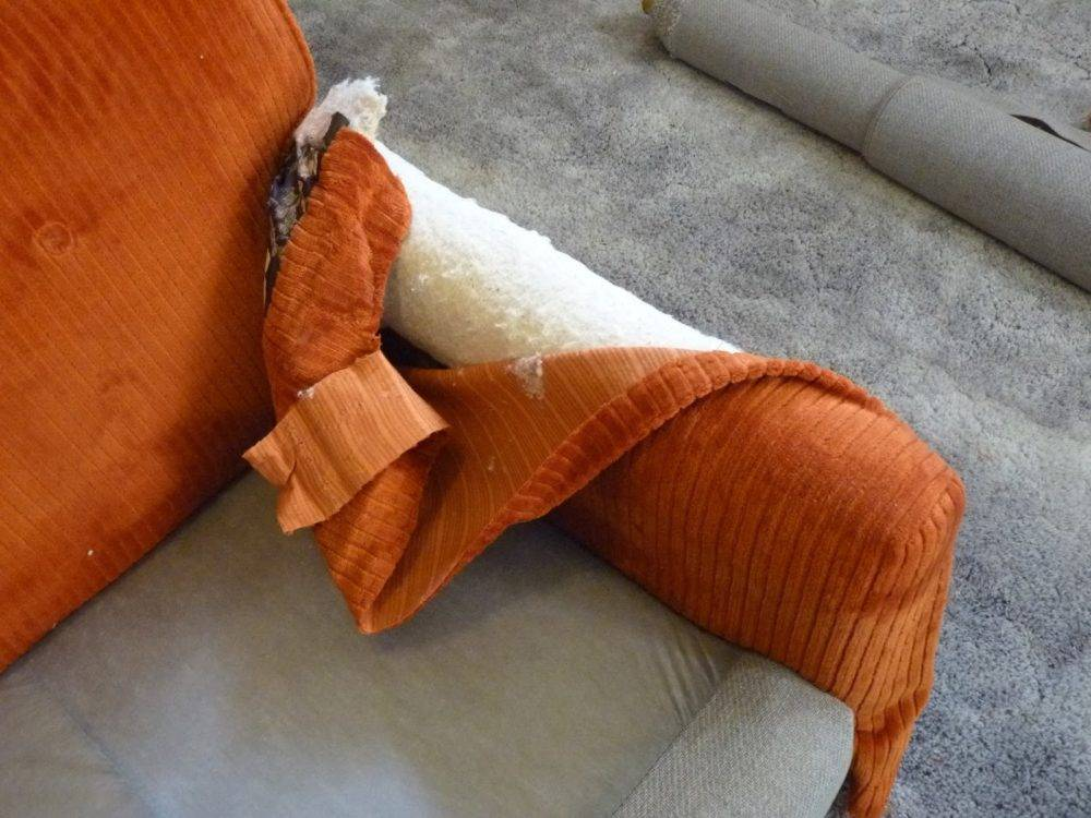 Как обтянуть диван своими руками - перетяжка дивана