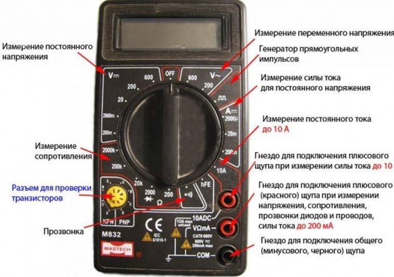 Как замерить силу тока – советы электрика