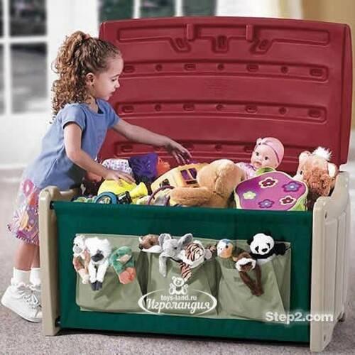 Стеллажи и ящики для игрушек— идеи для заботливых родителей
