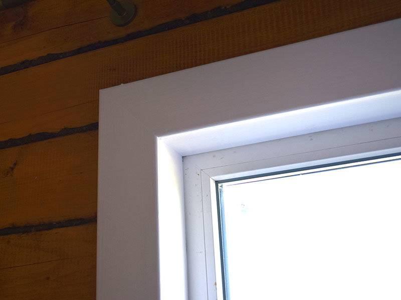 Наличники на пластиковые окна - основное виды конструкций и советы по монтажу