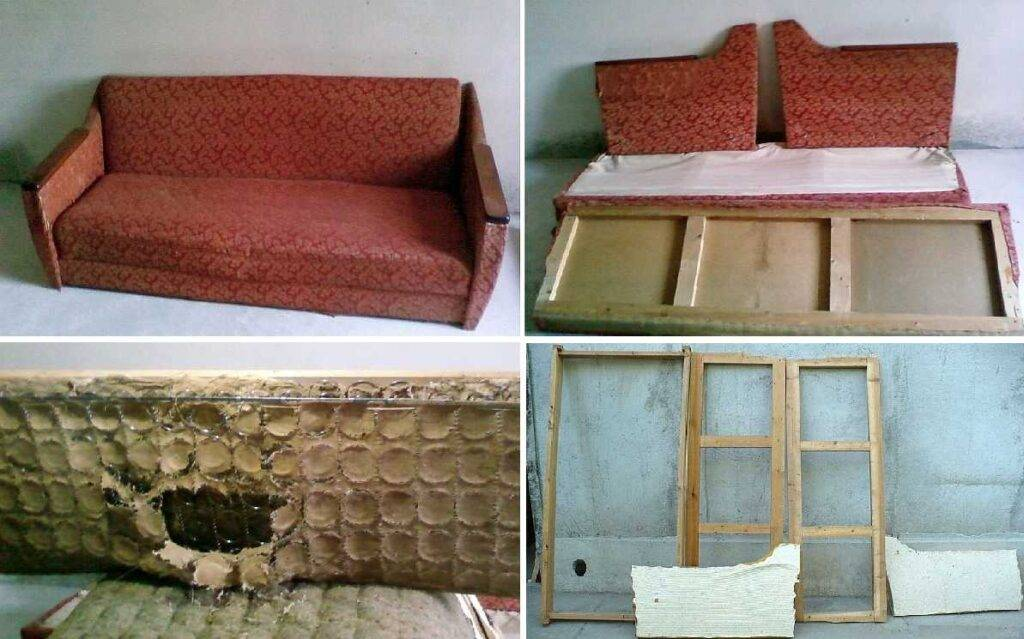 Перетяжка дивана (62 фото): обтяжка своими руками кожаной модели с подлокотниками пошагово, выбор ткани для обшивки, видео