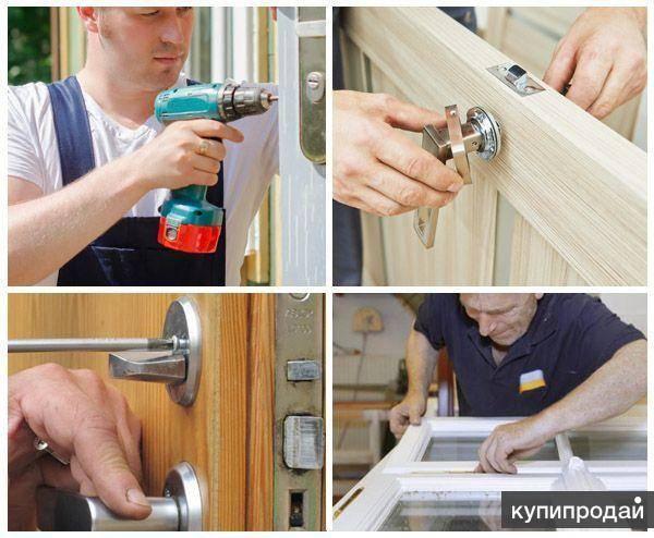Замена стекла в межкомнатной двери своими руками: разбираемся детально