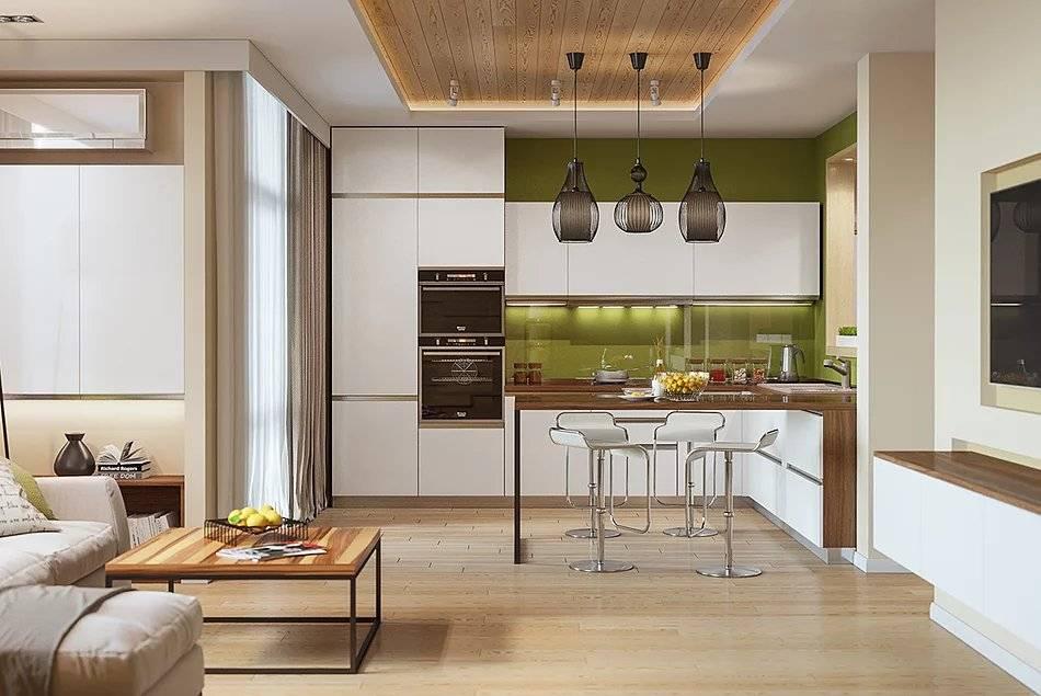 Планировка кухни-гостиной: 95 фото рекомендаций по расстановке элементов интерьера