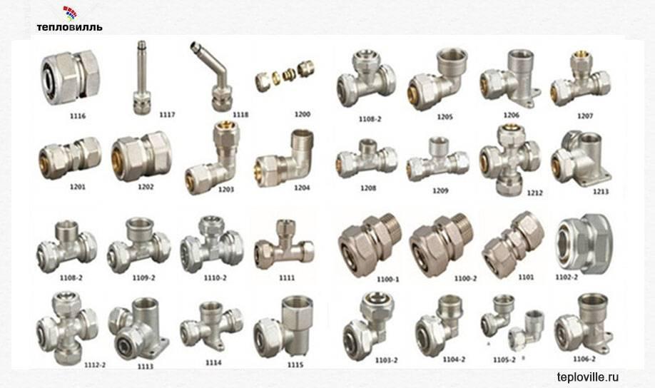 Водопроводная фурнитура: дополнительные элементы, без - учебник сантехника