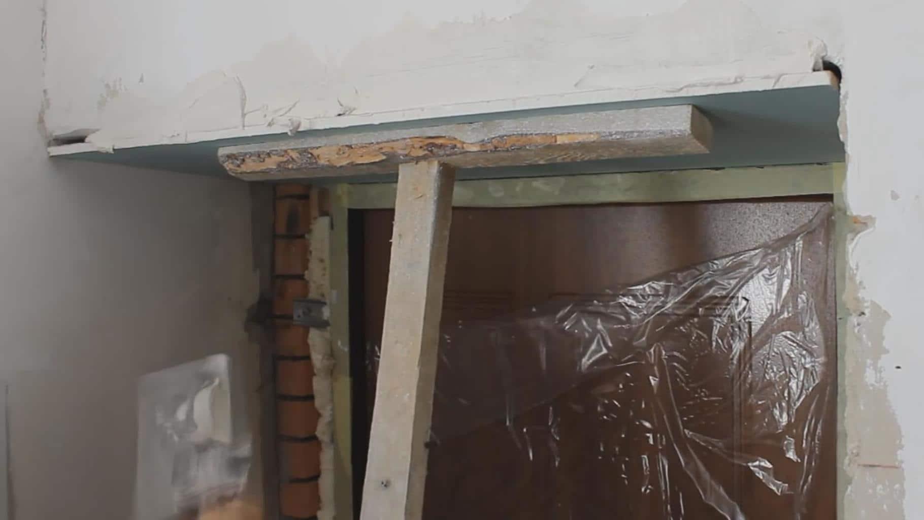 Штукатурка откосов окон и дверей внутри квартиры и снаружи