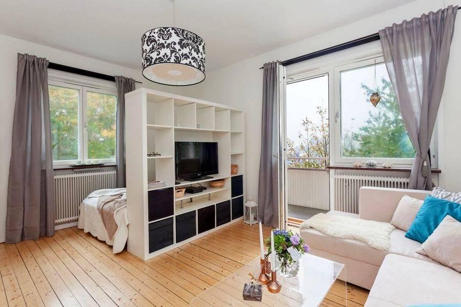 Перепланировка однокомнатной квартиры в двухкомнатную: 4 совета