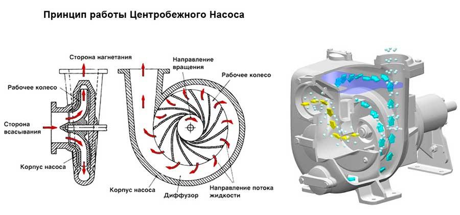 Центробежный самовсасывающий насос: виды + характеристики   гидро гуру