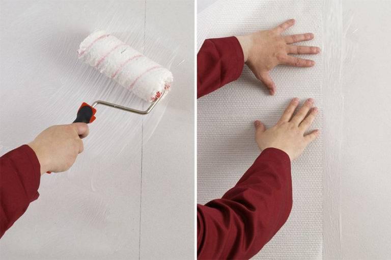 Как клеить стеклообои: видео инструкция, практические советы