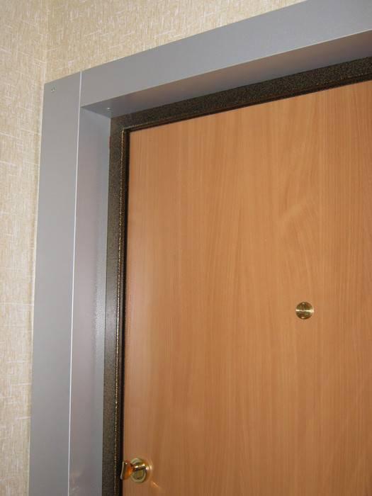 Отделка откосов входной двери – сравниваем и выбираем лучший из 6 традиционных вариантов
