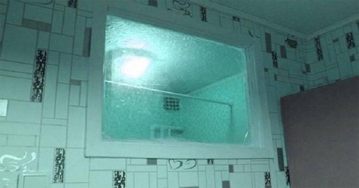 Загадка хрущевок: зачем нужно окно между ванной икухней