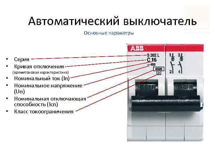 Маркировка автоматов в электрощитке