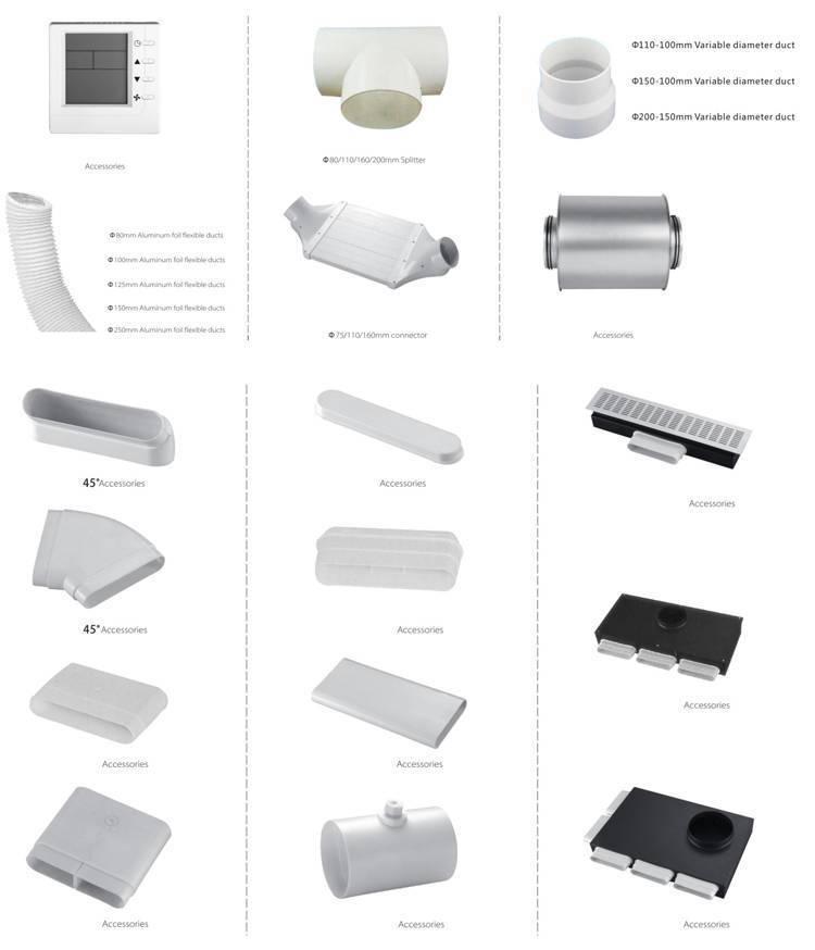 Пластиковые воздуховоды для монтажа вентиляции: виды и размеры