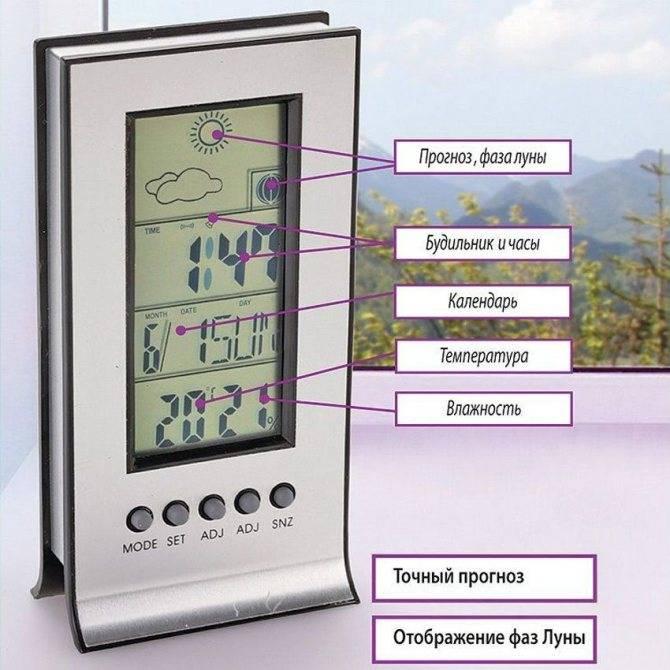 Метеостанция домашняя с беспроводным датчиком ⛅: топ-5 лучших метеостанций