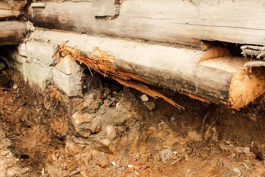 Замена венцов в деревянном доме: способы замены, конструкция, советы и рекомендации