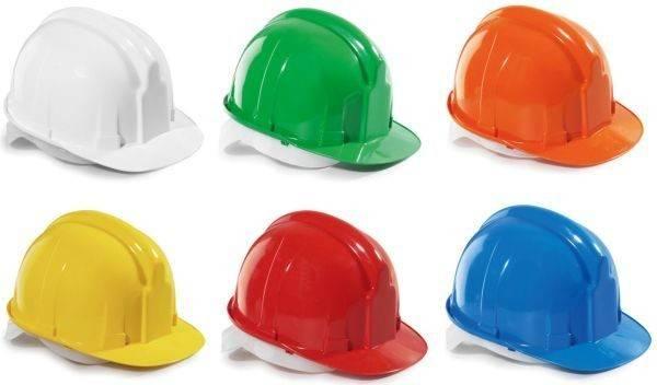 Какие цвета защитных касок сертифицированы